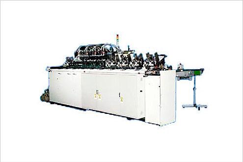 インクジェット光沢紙の丁合作業の自動化例